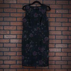 MARIO SERRANI Floral Sheath Dress Size Small